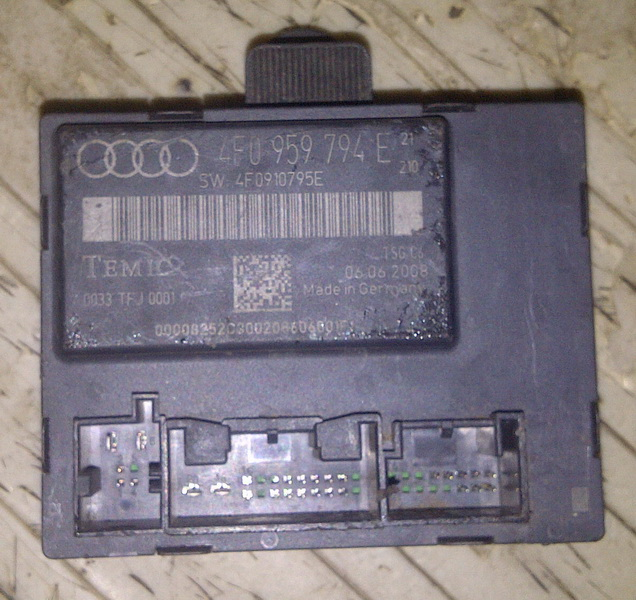 New shop door control module skoda superb 4f0 959 794 e for 01333 door control module