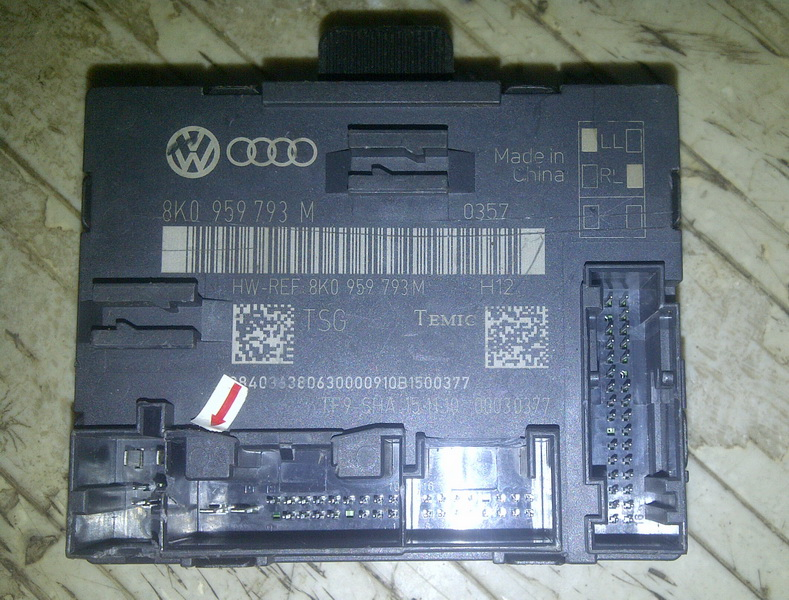 New shop door control module audi 8k0 959 793 m for 01333 door control module