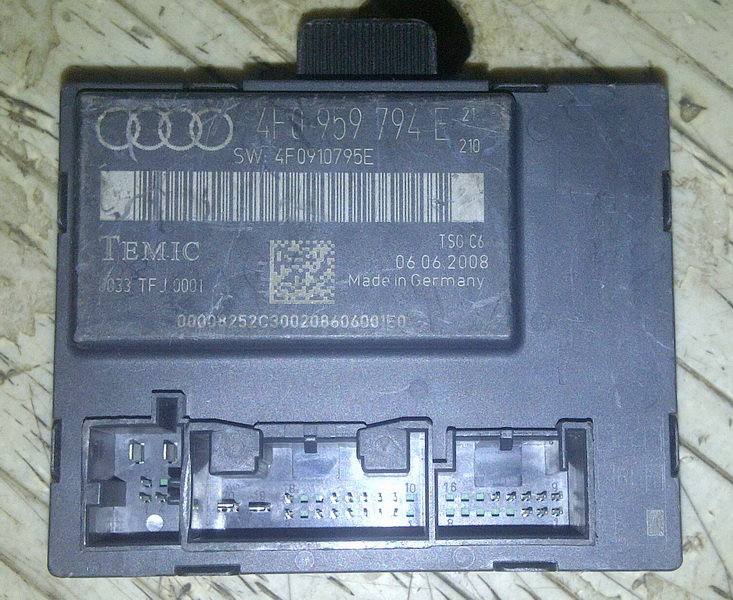 New shop door control module 4f0 959 794 e for 01333 door control module